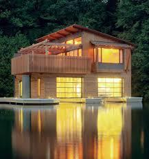 beautiful lake huron floating house by mos inhabitat green muskoka boathouse houses shit pinterest boathouse boat