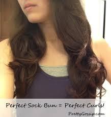 sock bun hair tutorial the sock bun pretty gossip