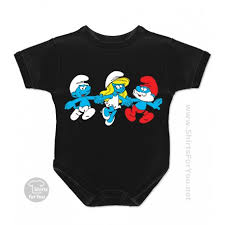 smurfette papa smurf smurfs baby onesie