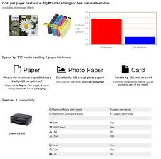 ink factory compare printers