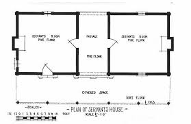 Dog House Floor Plans Cultural Landscape Of Plantation The Quarters