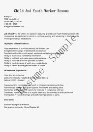 Child Care Job Resume by Youth Worker Resume Resume For Your Job Application