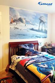 71 best star wars bedroom ideas for boys kids home decor battle of hoth mural