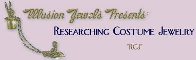 researching costume jewelry history jewelry marks