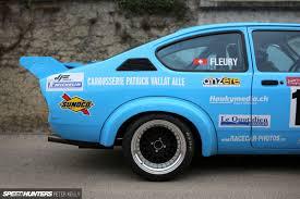 opel race car european hill climbing personified opel kadett howler speedhunters