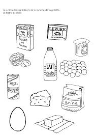coloriage recette de cuisine http minimat rimini activites temps rois 20galette
