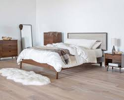 bedroom the stylish mid century modern bed frame for more than a