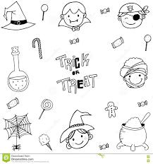 Free Halloween Vectors Doodle Of Magician Face Halloween Stock Vector Image 73017870