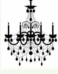 Cricut Chandelier Large 21 X 30 Chandelier French Paris Wall Art By Astickyplace