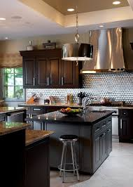 Backsplash For Kitchens Sparkling Trend 25 Gorgeous Kitchens With A Bright Metallic Glint