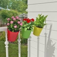 planter shaz living 3 pcs balcony railing planter online fab