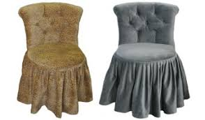 vanity chair with skirt wonderful vanity chair with skirt pictures best inspiration home