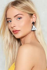 earrings girl bad girl earrings shop clothes at gal