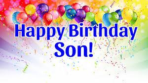 happy birthday son youtube