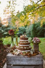 woodland autumnal boho wedding ideas earthy boho and cake table