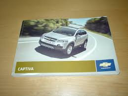chevrolet captiva owners manual handbook chevy 2 4 u0026 3 2 litre