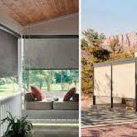 Patio Drapes Outdoor Exterior Patio Shades Justsingit Com