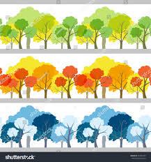 set of three trees 100 images 5 162 three trees stock vector