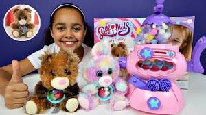 make your own teddy fluffimals fluffy factory machine diy make your own teddy