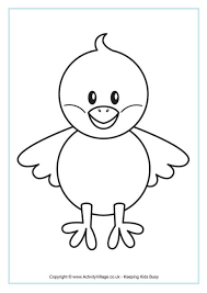 7 images easter outline printable coloring