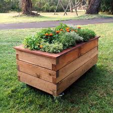 raised planter box optional design garden with raised planter