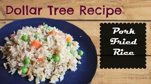 dollar tree recipe pork fried rice