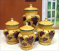 wine kitchen canisters decorative canister sets bmhmarkets club