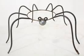 Gazing Globe Stand Wrought Iron Large Spider Gazing Ball Stand Plant Stand