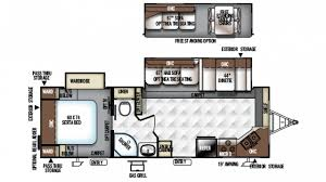 Rockwood Trailers Floor Plans Forest River Rockwood Ultra Lite 2608ws Travel Trailer Floor Plan