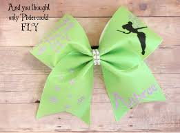personalized bows cheer bows for flyers tinkerbell cheer bows and you though
