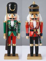 wooden nutcracker soldiers decorations search