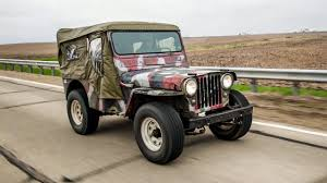 vintage willys jeep the 1948 willys jeep made it 1300 miles before the engine died