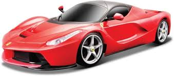 toy ferrari model cars maisto 1 24 rc la ferrari red remote control toy car 1 24 rc la