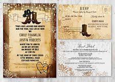 Rustic Wedding Invitation Rustic Wedding Invitations Ebay