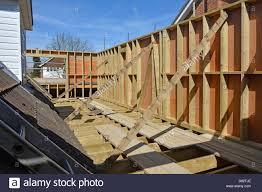 Outdoor Wood Floor Panels Stock Photo Royalty Free Image House Floor Joists Construction