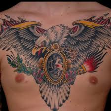 Mexican Flag Tattoos 32 Mexican Tattoos On Chest