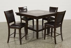 dining room table with lazy susan harper 5 piece counter set living spaces