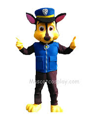 paw patrol halloween costume sale new paw patrol chase dog mascot costume fancy suit