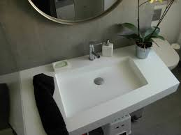 lavandino corian salle de bain lavabo inox