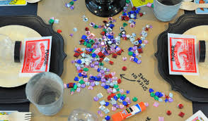 host a fortune teller themed halloween craft party
