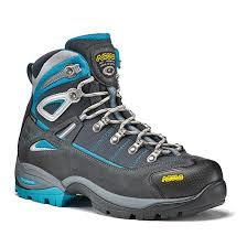asolo womens boots uk asolo futura gtx walking boots s graphite blue pea