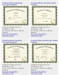 what u0027s new free geographics templates for certificates diplomas