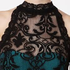 lipsy high neck baroque green lace dress u2013 the laguna room