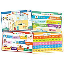 kids placemats educational kids placemats set of 4 alphabet numbers
