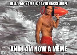 David Hasselhoff Meme - livememe com actual advice mallard