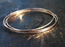 gold bangle bracelet set images Solid gold jewelry JPG