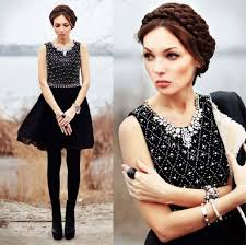 dress black dress night in shining glamour dress lena tsoon