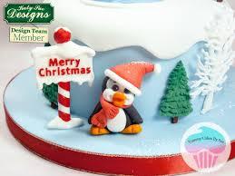 penguins sugar buttons silicone moulds katy sue designs