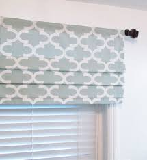 Kitchen Window Treatments Roman Shades - faux hobbled roman shades on decorative rod google search