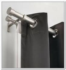 brackets for double curtain rod jen joes design for umbra double curtain rod living umbra twilight room darkening